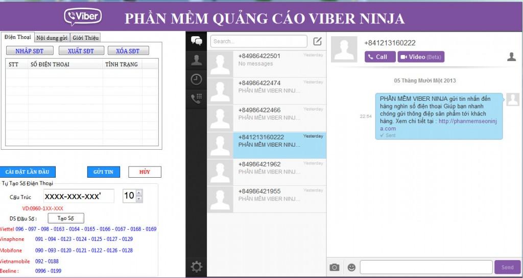 phan mem quang cao viber ninja e1394502625172 1024x546 Phần mềm gửi sms miễn  phí, phần