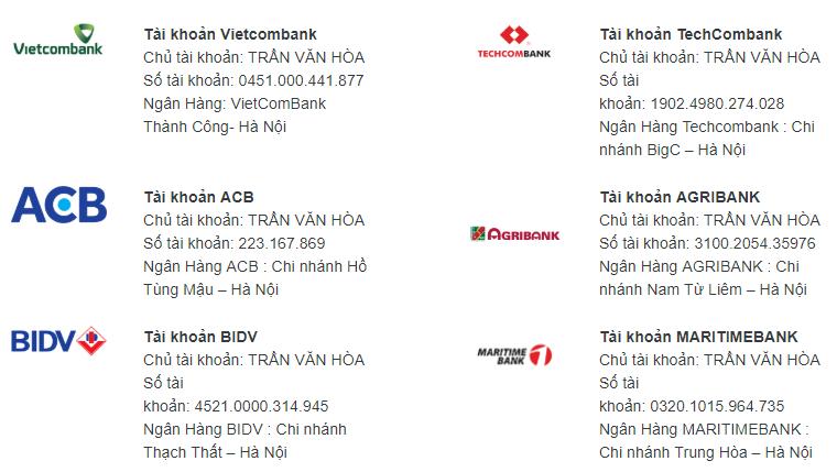 huong dan mua phan mem ninja Hướng dẫn mua phần mềm Ninja online và thanh toán trực tuyến