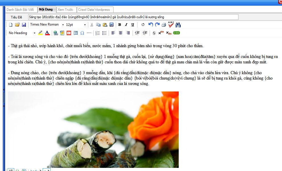 phan mem lay tin tu dong 4 Hướng dẫn sử dụng phần mềm lấy tin tự động RSS   Ninja Seo