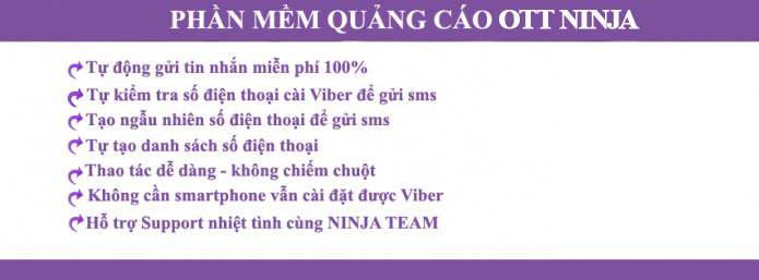 phan mem viber2 Phần mềm gửi sms miễn phí, phần mềm gửi sms viber  Viber Ninja
