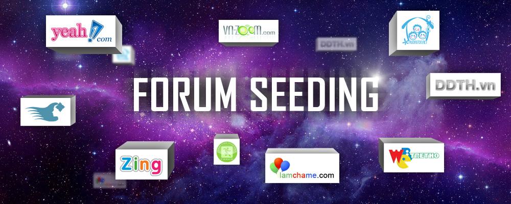 Lam forum seeding Dịch vụ Forum seeding rẻ nhất, tuy tín chất lượng nhất Việt Nam