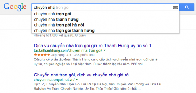 googleSuggest 626x297 Tạo Google Suggest, nghề mới đây !  Facebook Ninja