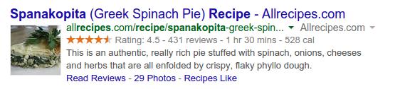 recipe2 Tăng tỷ lệ CTR trên Google chỉ với những mẹo đơn giản  Facebook Ninja