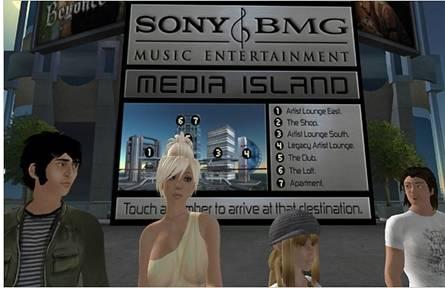 secondlife12 Thế giới ảo Một lãnh địa mới của hoạt động quảng cáo?   Facebook Ninja