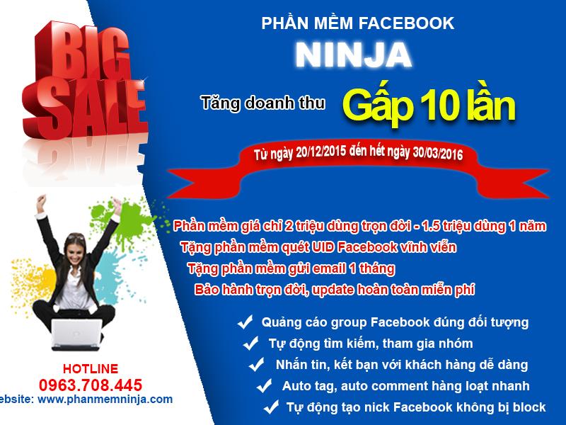 bigsale phanmemninja Hướng dẫn auto up tin trên facebook   Hướng dẫn Ninja Facebook