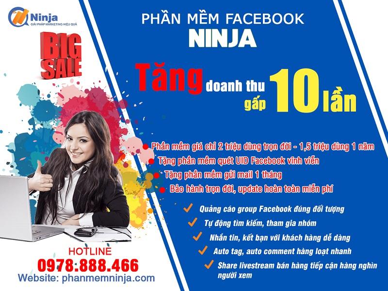 bigsale phanmemninja 800x600 Lên lịch post bài viết lên Profile Facebook  Facebook Ninja