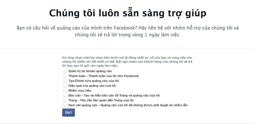 4 Phần mềm ninja   Hướng dẫn các cách liên hệ với Facebook để nhận hỗ trợ