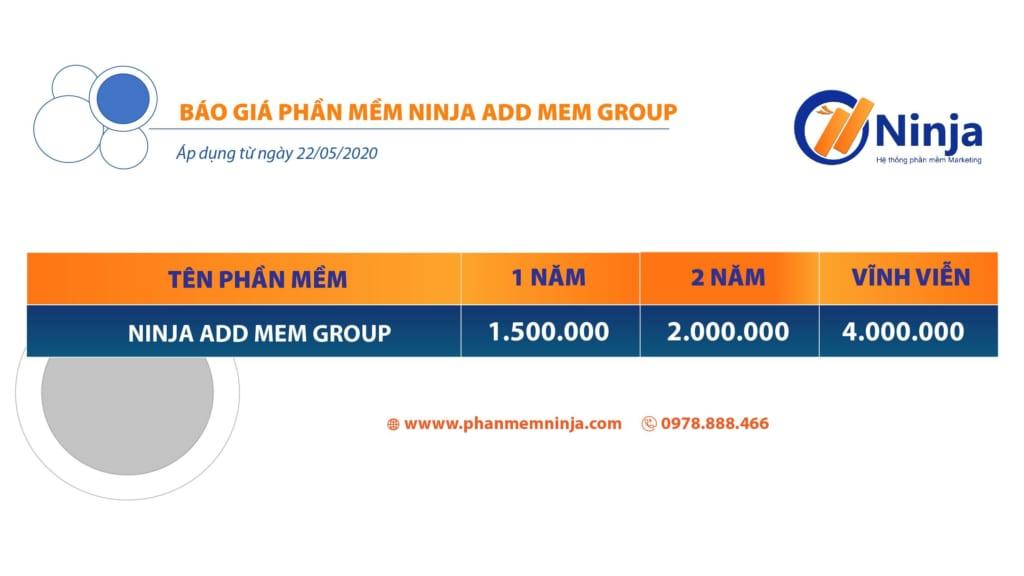 ADD MEM GROUP 1024x576 Ninja Add Mem Group   Phần mềm kéo thành viên vào nhóm