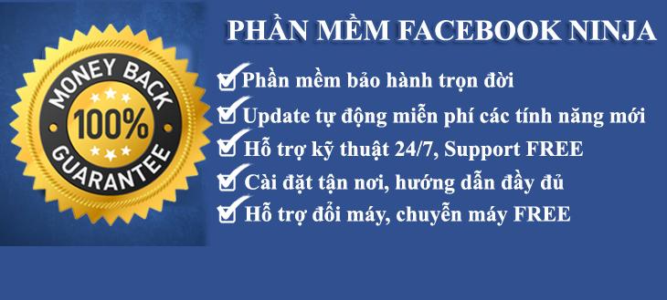 phan mem facebook ninja dang tin share livestream ban hang 4 Phần mềm Facebook Ninja đăng tin, share livestream bán hàng