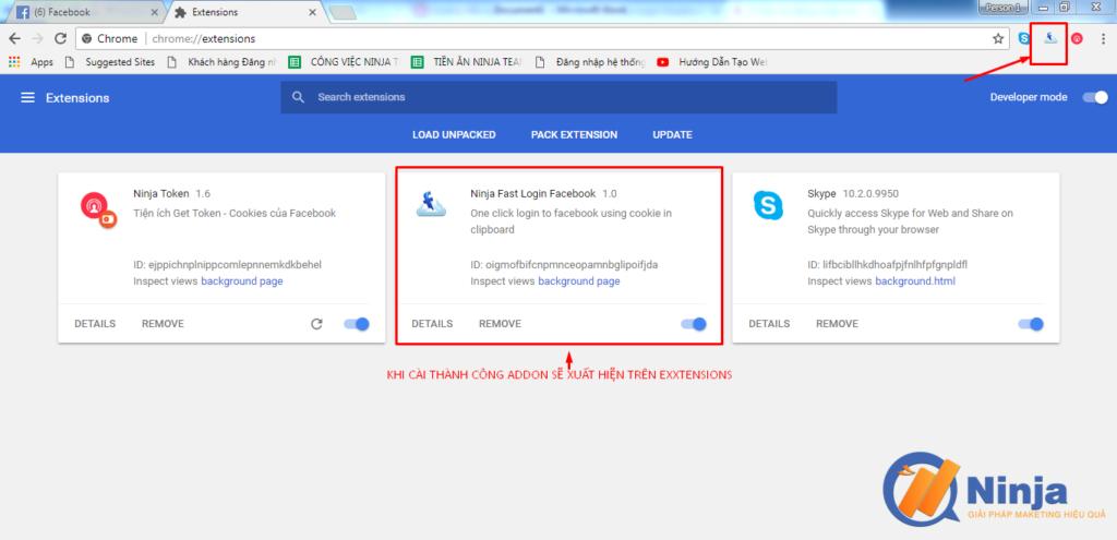 huong dan cai ninja fast login facebook 4 1024x495 Phần mềm Facebook Ninja   Hướng dẫn cài Ninja fast login facebook