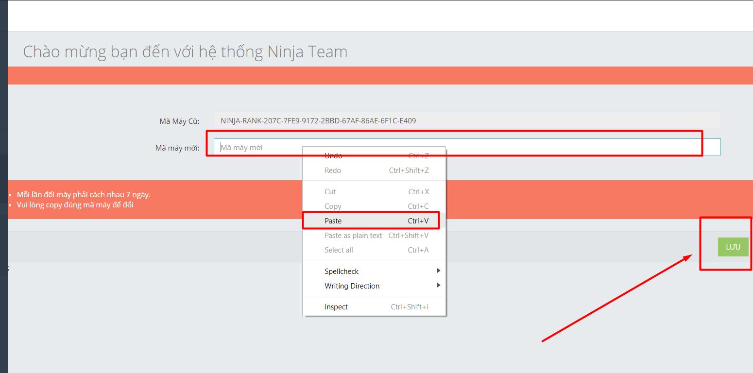l%C6%B0u Hướng dẫn đổi bản quyền, thay pass, quên pass tài khoản Phần mềm Ninja