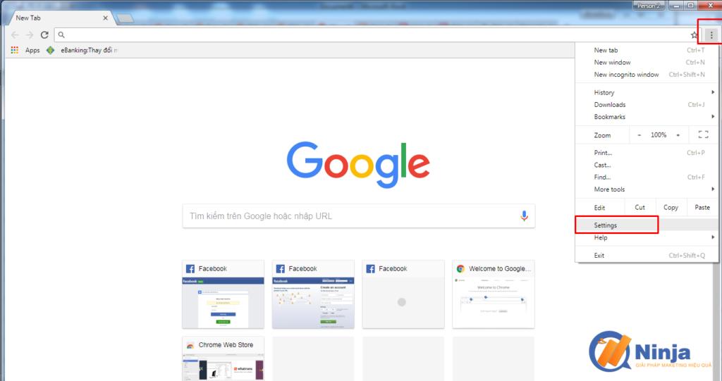 su dung phan mem ninja care de tao profile google chrome 1 1024x541 Sử dụng phần mềm Ninja Care để tạo profile google chrome