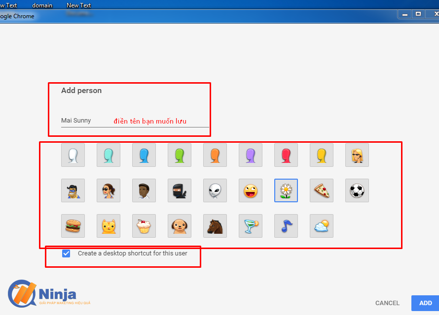 su dung phan mem ninja care de tao profile google chrome 3 Sử dụng phần mềm Ninja Care để tạo profile google chrome