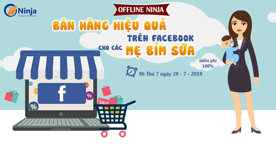 phan mem ninja offline cho nguoi moi ban hang online Thông báo Offline cho người mới bán hàng Online