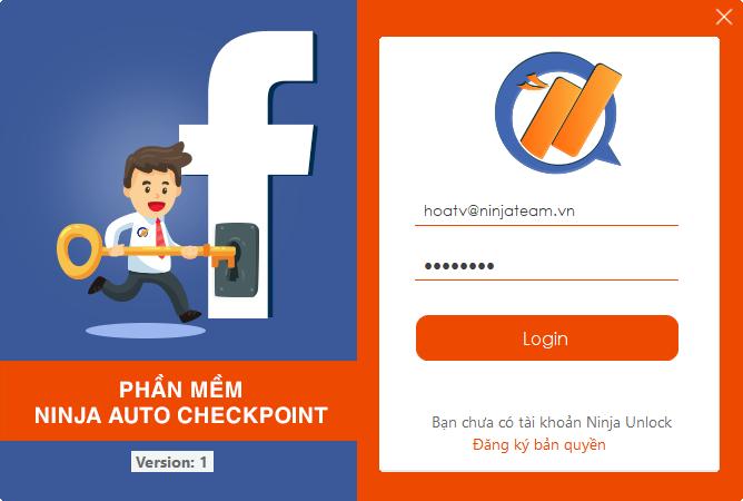 image Ninja Auto Checkpoint   phần mềm tự động mở khóa khi facebook checkpoint tài khoản