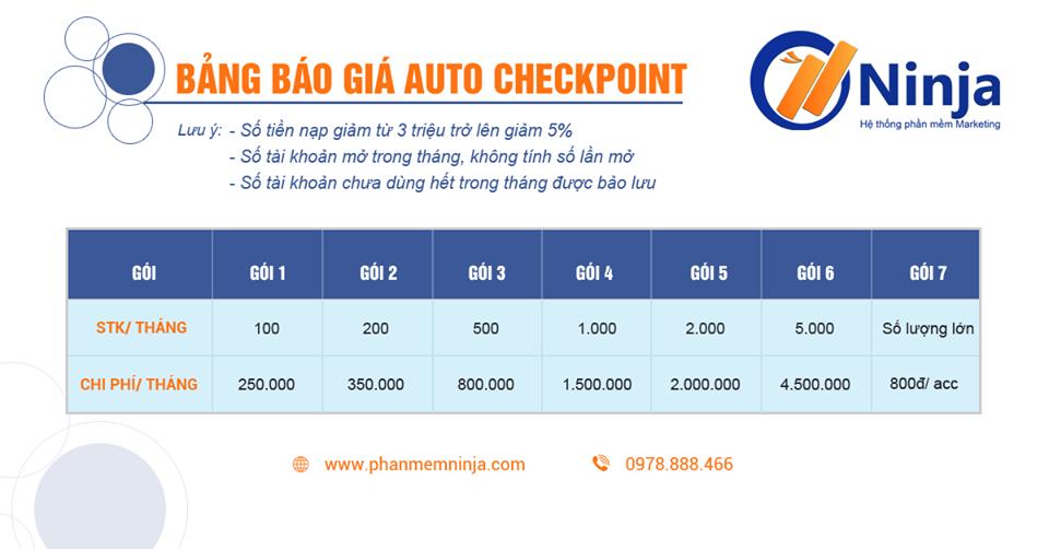 44057805 2244537562441811 7765517904455401472 n Hướng dẫn sử dụng tính năng Auto Checkpoint trên Ninja Care