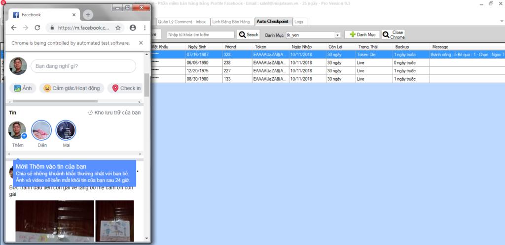 Screenshot 11 1024x498 Hướng dẫn sử dụng tính năng Auto Checkpoint trên Ninja Care