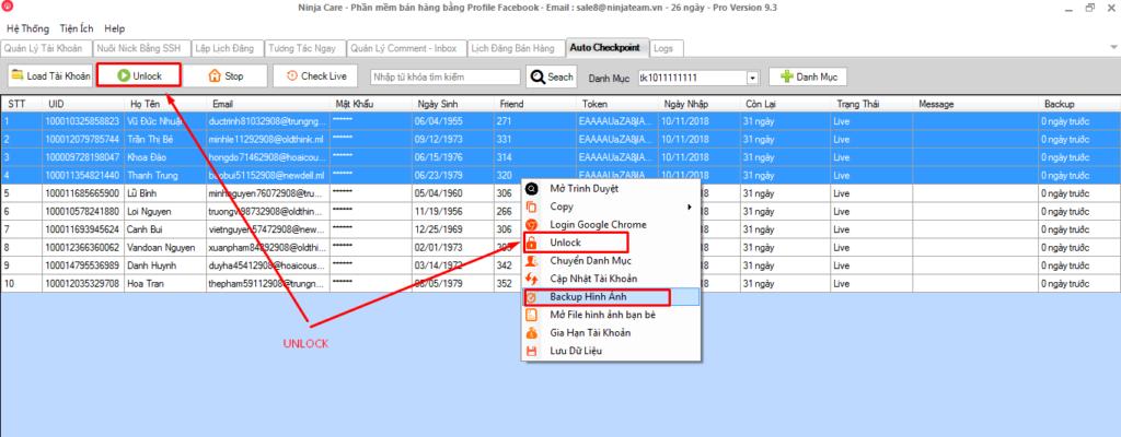 Screenshot 3 1024x400 Tích hợp tính năng Auto Checkpoint vào phần mềm Ninja Care