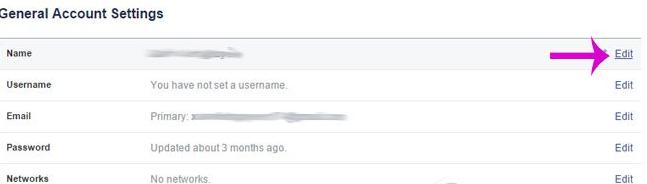 doitenfacebookcanhan3 Đổi tên Facebook cá nhân không cần chờ 60 ngày hoặc đổi quá 5 lần