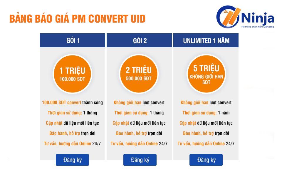 bao gia convert sang sdt final Convert UID facebook sang số điện thoại nhanh thần tốc