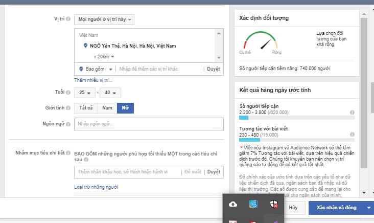 target1 Cách target quảng cáo Facebook hiệu quả