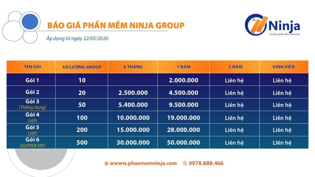 GROUP 1024x576 Ninja Group   Phần mềm quản lý group tự động chuyên nghiệp