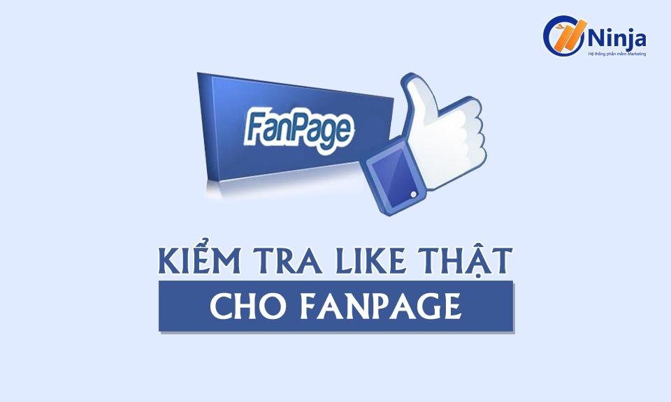 likethat960 Quy trình kiểm tra like thật cho FANPAGE