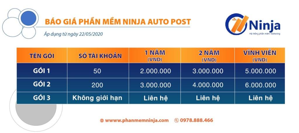 auto post 1024x457 Ninja Auto Post   Phần mềm đăng tin quảng cáo, bán hàng Facebook
