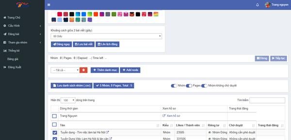 auto post 2 Ninja Auto Post – Phần mềm đăng tin, up bài bán hàng Facebook