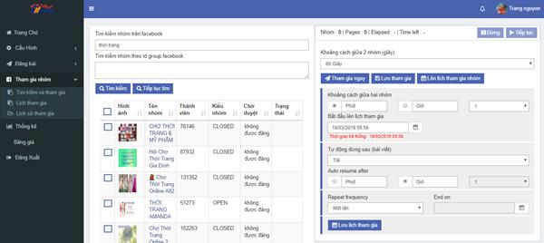 auto post 4 Ninja Auto Post – Phần mềm đăng tin, up bài bán hàng Facebook