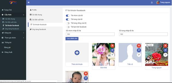 auto post 5 Ninja Auto Post – Phần mềm đăng tin, up bài bán hàng Facebook