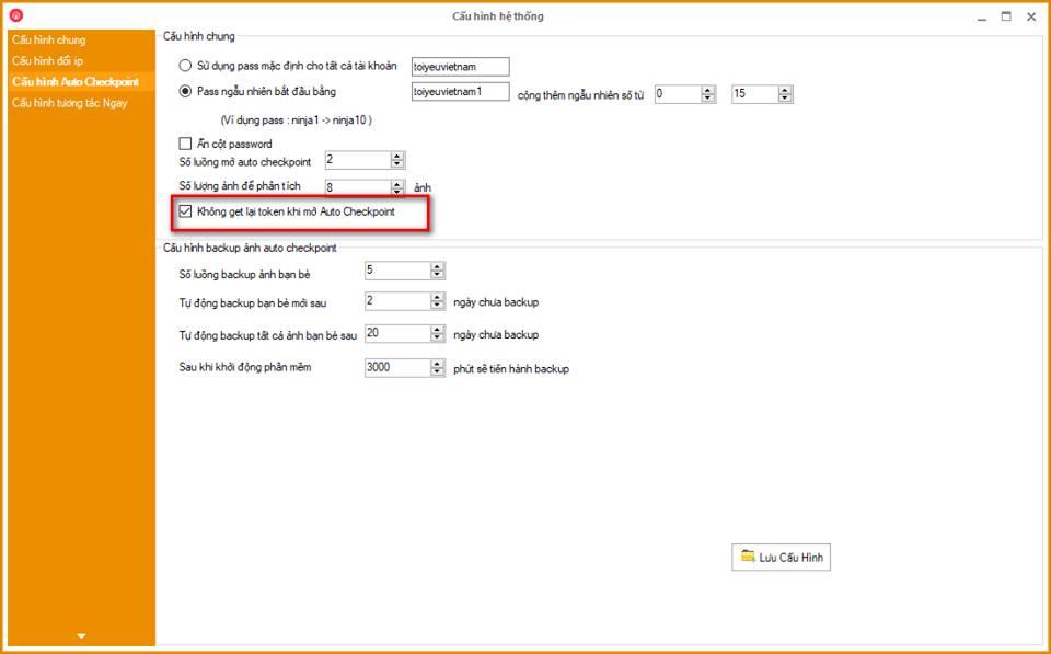 checkpoint Update Ninja Care version 11.6 tương tác bằng ẩn chrome