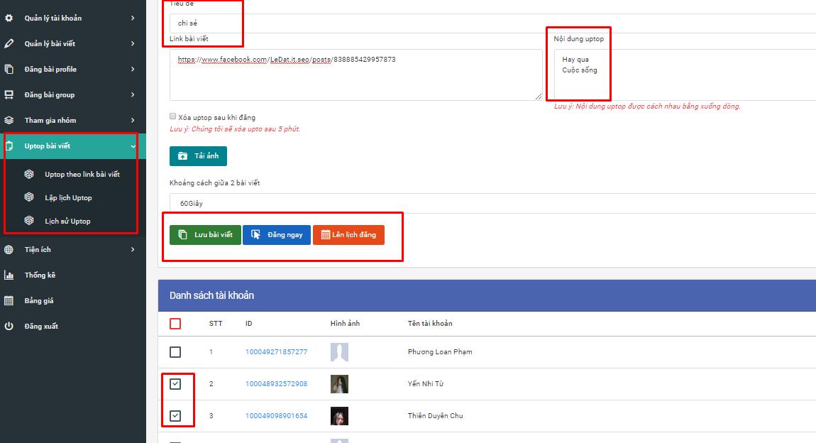 up top 1 Ninja Auto Post   Phần mềm đăng tin quảng cáo, bán hàng Facebook