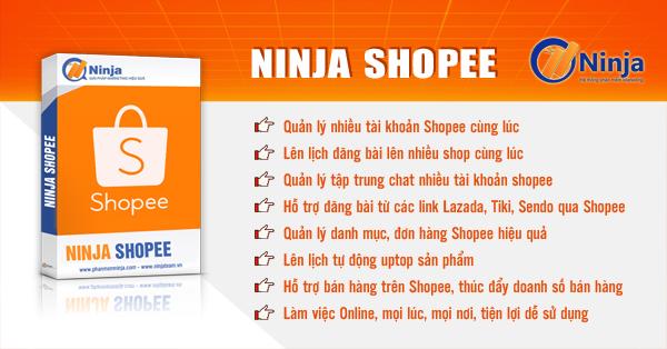 ninjashoppe600 6 BƯỚC BÁN HÀNG TRÊN SHOPEE HIỆU QUẢ NHẤT NĂM 2019