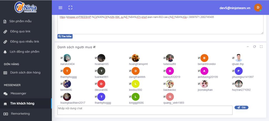 quản lý bàn hàng trên shopee 5 1024x462 Ninja Shopee – Phần mềm quản lý bán hàng trên Shopee, Tiki, Lazada