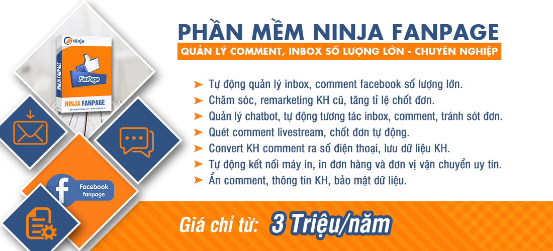 20200326 ninja fanpage 7 Cách Tự Chạy Quảng Cáo Facebook Tiếp Cận 1.000.000 Khách miễn phí 0Đ