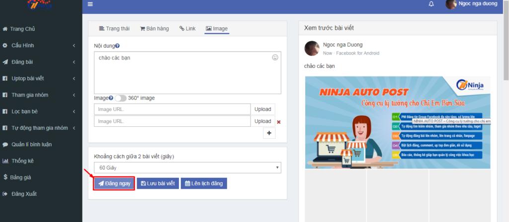 Auto Post hướng dẫn cài đặt và đăng bài 15 1024x448 Hướng dẫn sử dụng phần mềm Ninja Auto Post