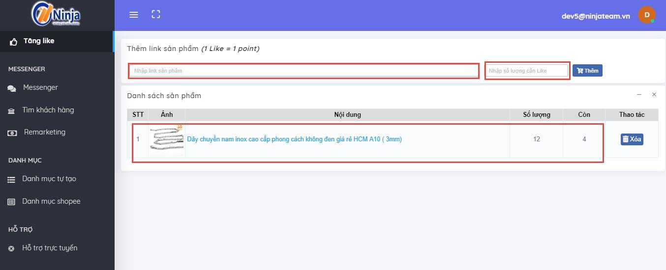 Huong dan su dung tinh nang Seeding Shopee5 Hướng dẫn sử dụng tính năng seeding trên phần mềm Ninja Shopee