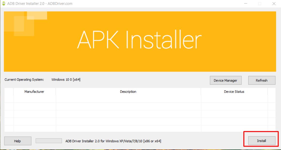 cai dat adb2 Hướng dẫn cài đặt ADB Driver để dùng phần mềm nuôi nick mobile Ninja System