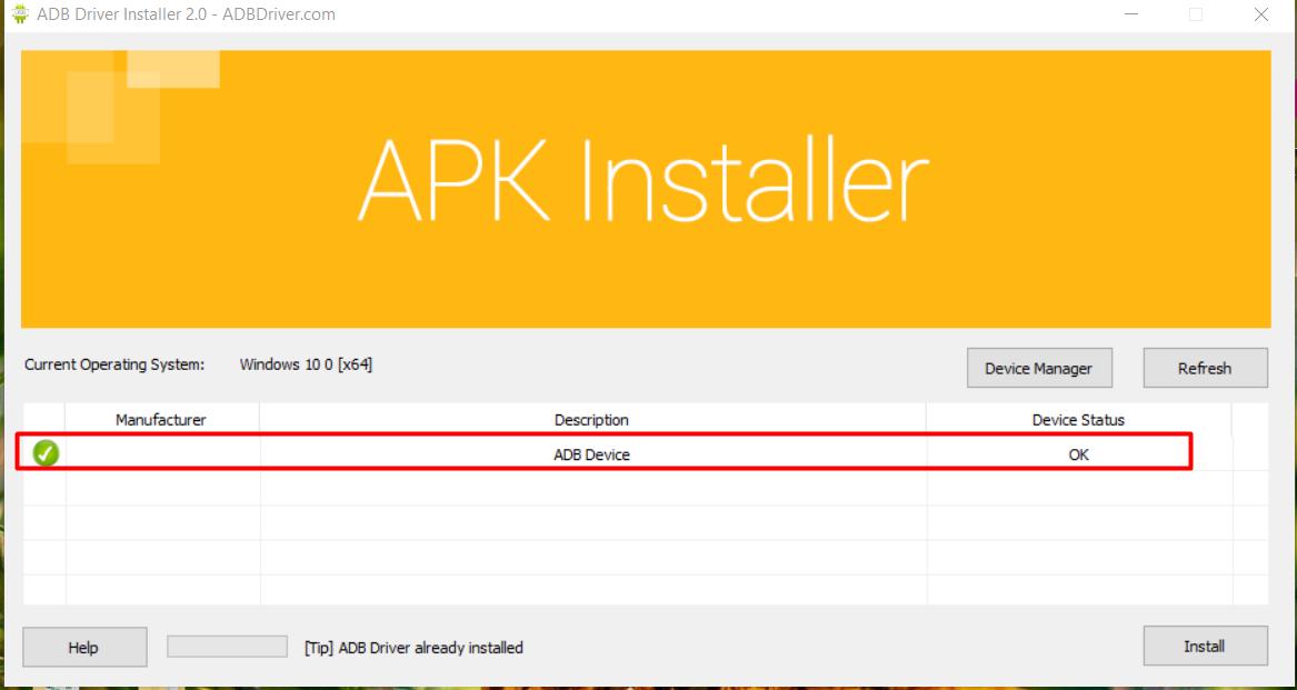 cai dat adb3 Hướng dẫn cài đặt ADB Driver để dùng phần mềm nuôi nick mobile Ninja System