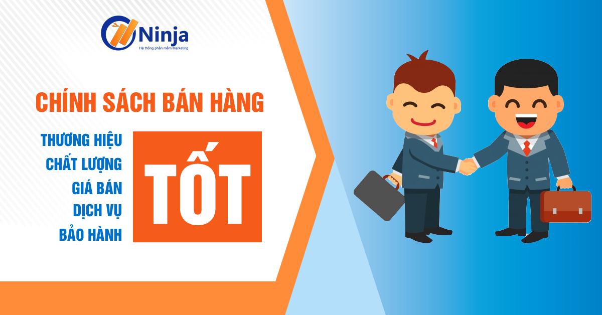 chinh sach ban hang tot Phần mềm Ninja hỗ trợ khách hàng đổi Tool