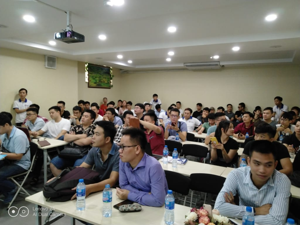 dao tao ninja system2 1024x768 Tổng kết Offline đào tạo nuôi nick điện thoại Ninja System