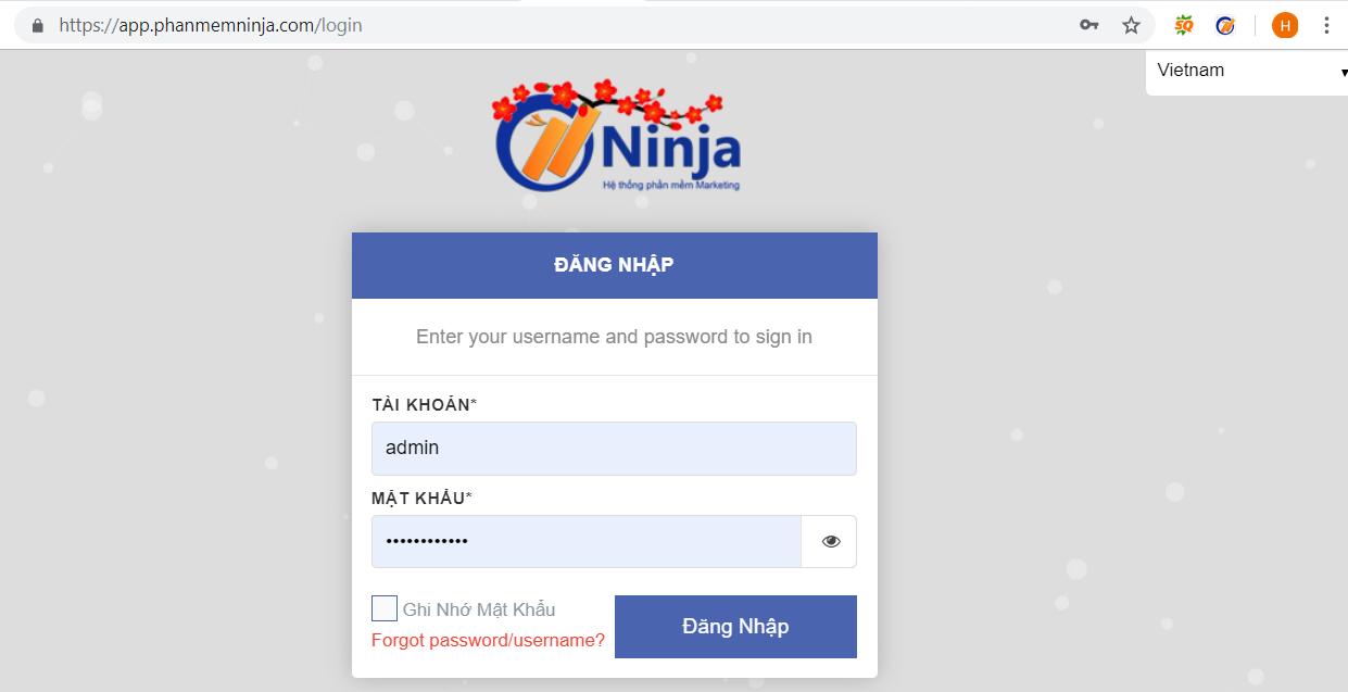 huong dan nhap tai khoan vao auto post Hướng dẫn nhập tài khoản đăng tin Facebook vào Ninja Auto Post