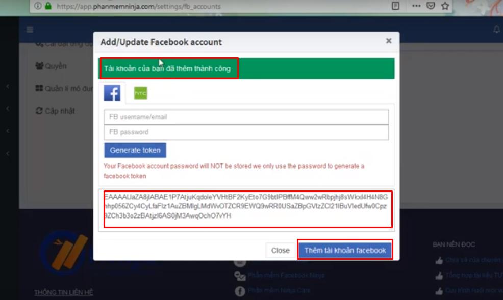 huong dan nhap tai khoan vao auto post3 Hướng dẫn nhập tài khoản đăng tin Facebook vào Ninja Auto Post