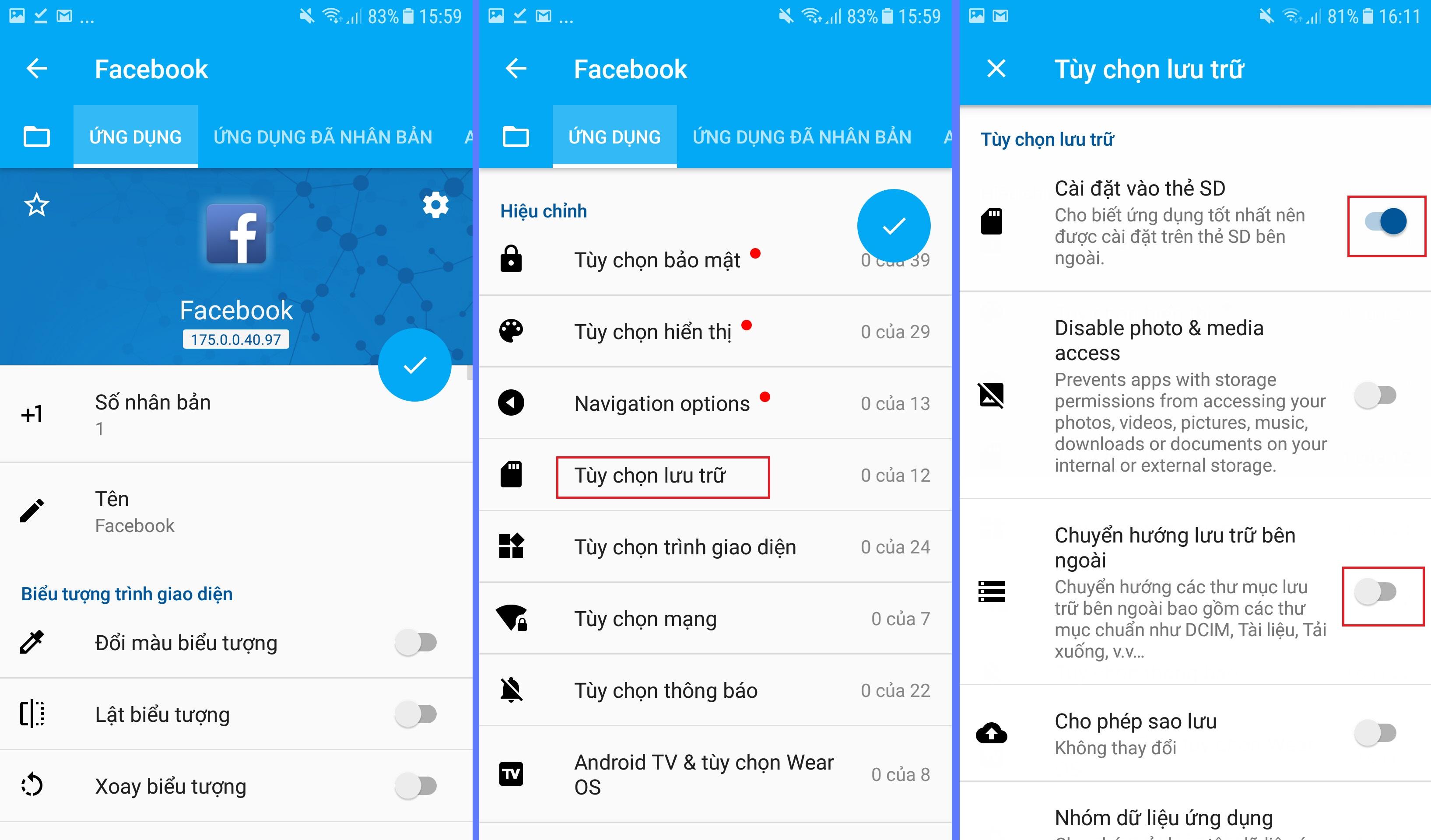 Hướng dẫn cài đặt và nhân bản app Facebook nuôi nick điện thoại Ninja System