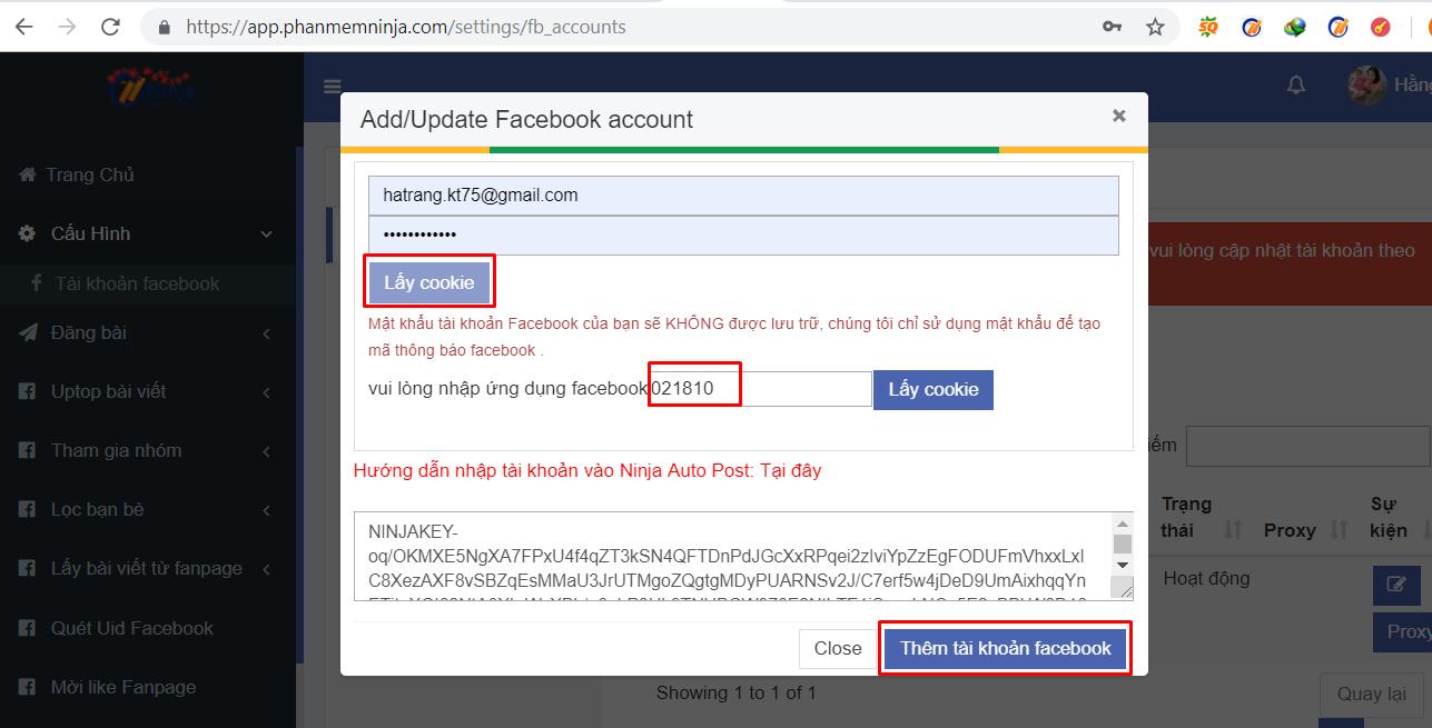 them tai khoan auto post2 Hướng dẫn cài đặt và lấy mã Google Authenticator hạn chế checkpoint cho tài khoản facebook