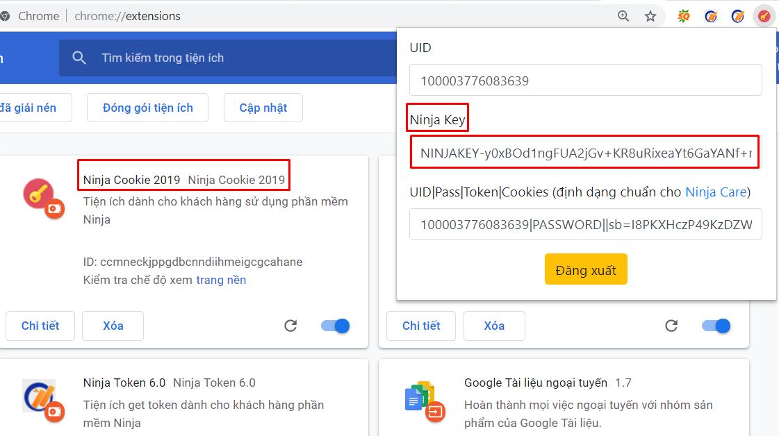 them tai khoan vao ninja auto post Hướng dẫn nhập tài khoản đăng tin Facebook vào Ninja Auto Post
