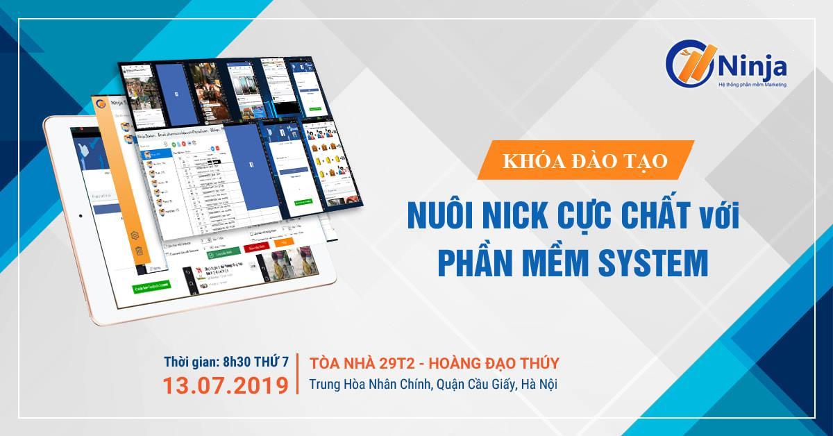 khoa dao tao ninja system Tổng kết chương trình Offline khóa đào tạo nuôi nick mobile Ninja System