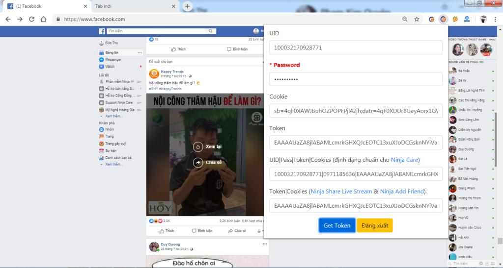 Cách quét comment livestream bằng tool lọc comment livestream Ninja Comment - 271376