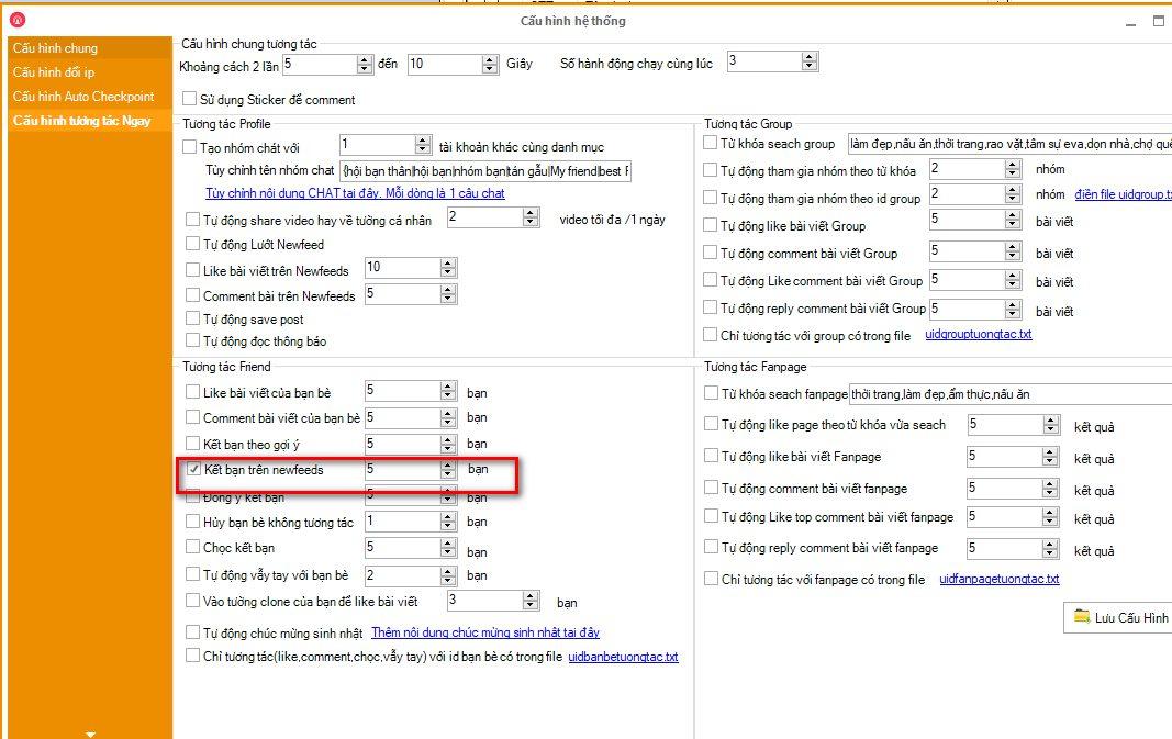 update ninja care v131 Quy trình nuôi nick facebook hiệu quả bằng Ninja Care newfeed V13.1